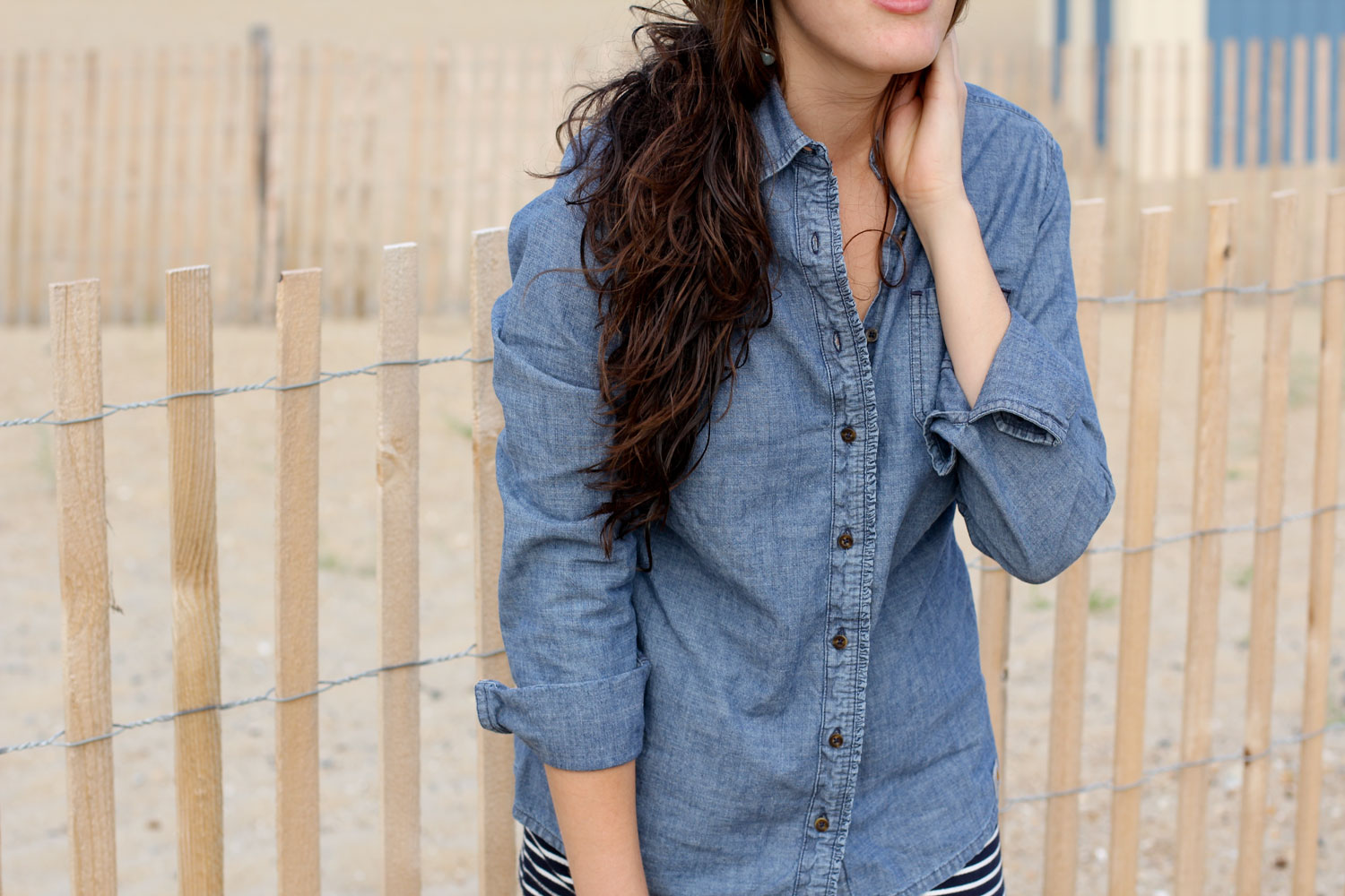 Carhartt women s chambray shirt crafted in carhartt for Cuisine you chambray