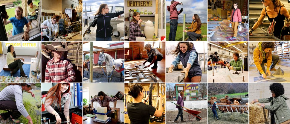 Girl Power / Crafted in Carhartt