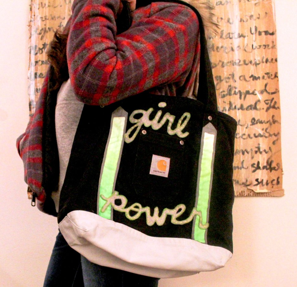 girl power and Carhartt