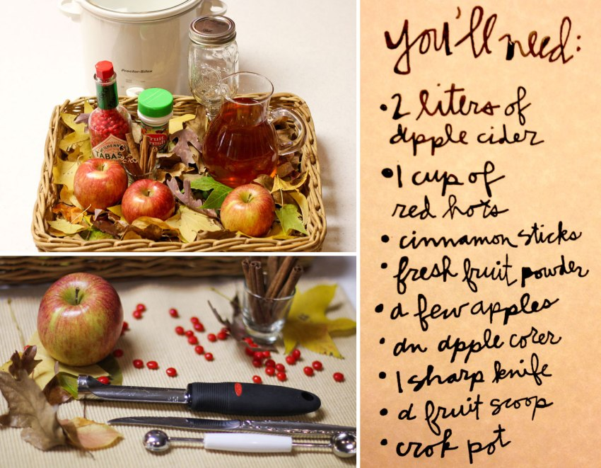 DIY apple cider