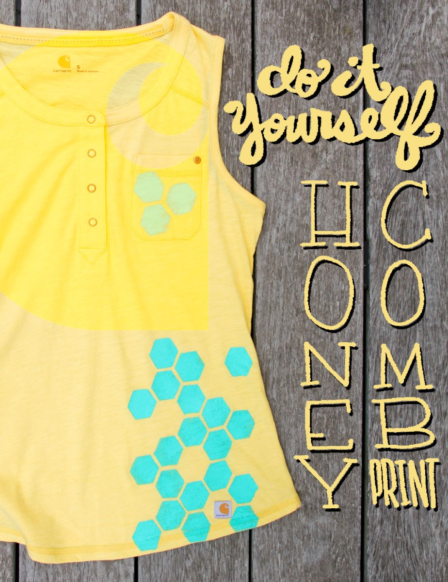 Diy Honeycomb Print Crafted In Carhartt