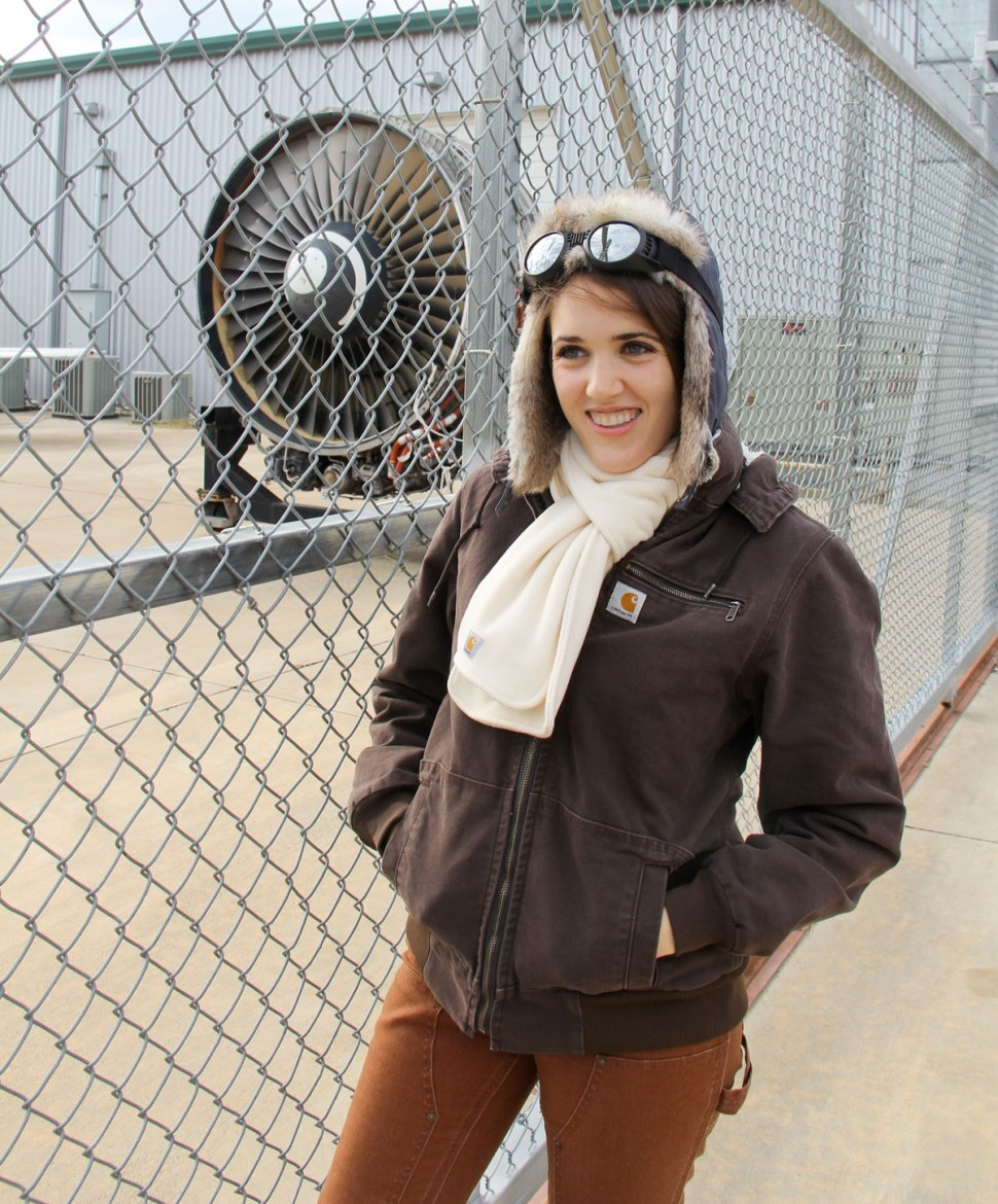 Amelia Earhart and Carhartt