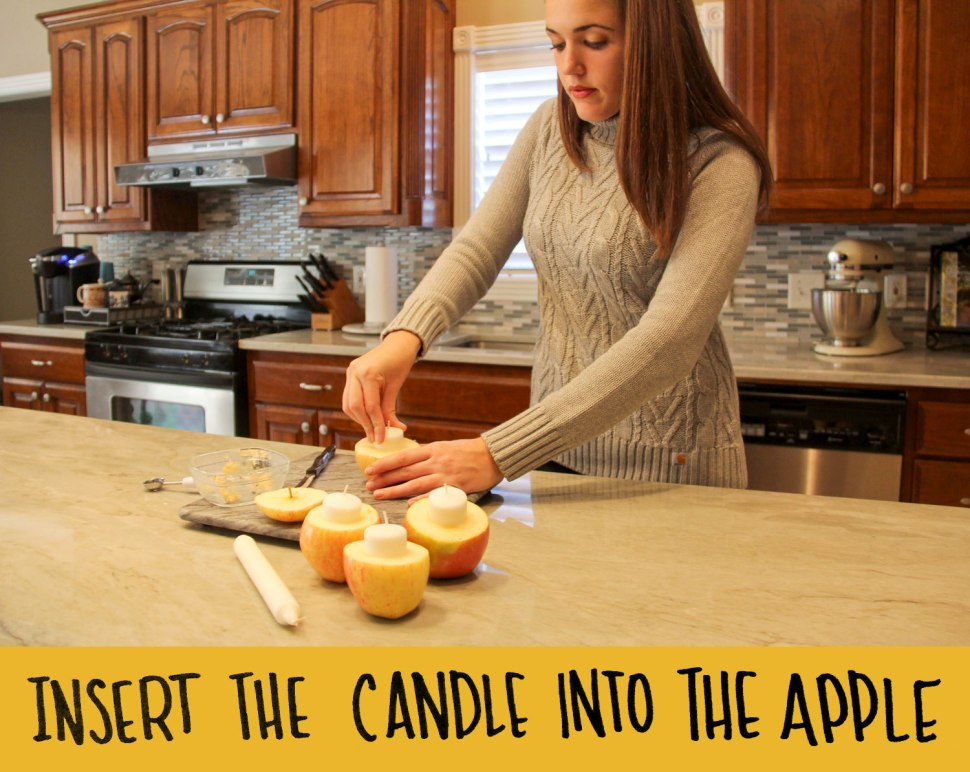 Carhartt DIY: Apple Votive