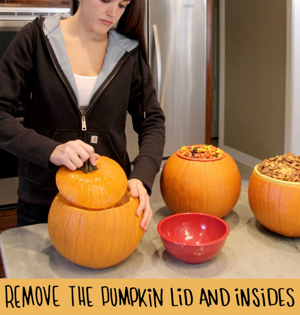 DIY pumpkin bowls / Crafted in Carhartt