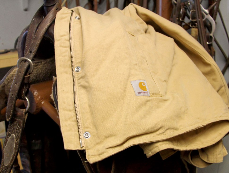 chilly chores with Carhartt