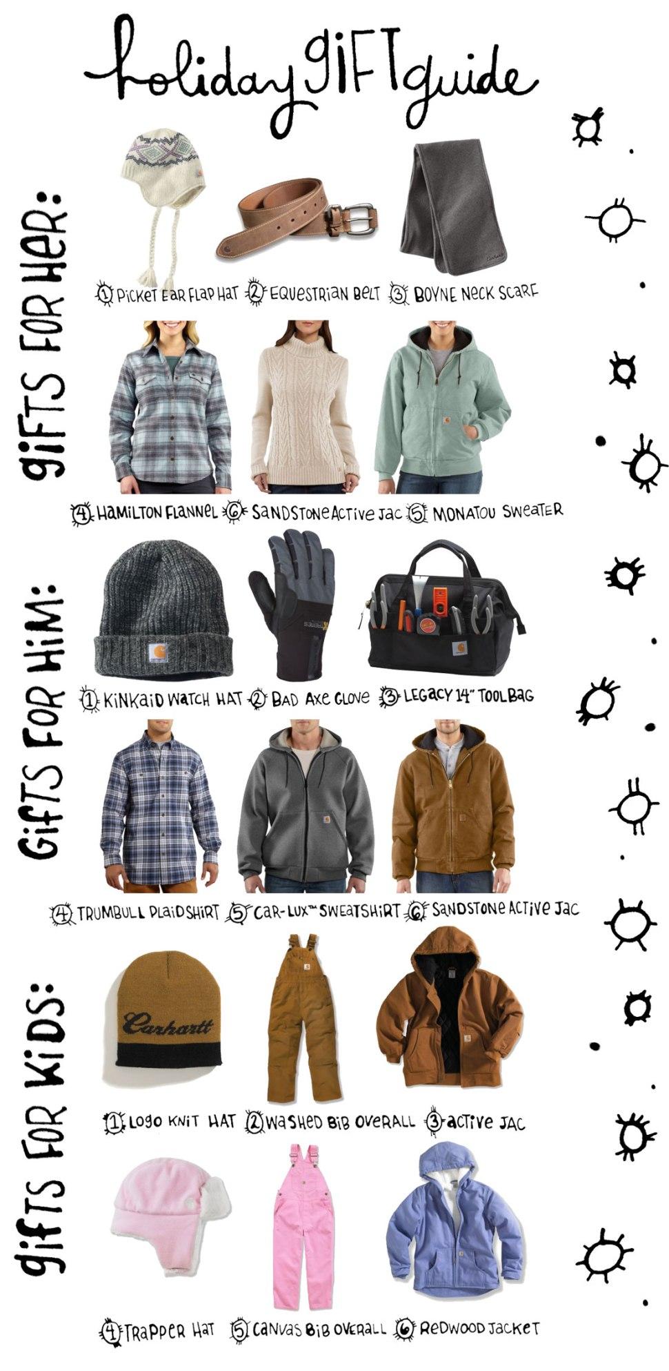 Carhartt Holiday Gift ideas