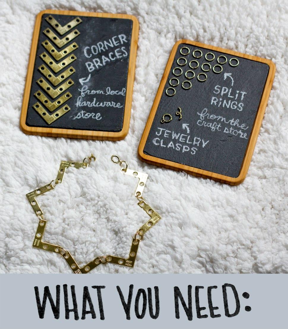 Carhartt DIY Corner Bracket Bracelet