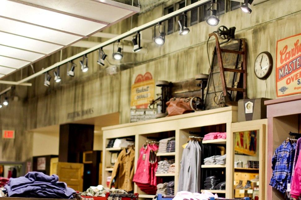 Carhartt Minneapolis Mall of America Store