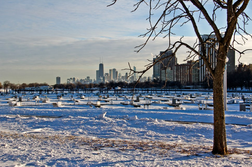 Chicago snow and Carhartt