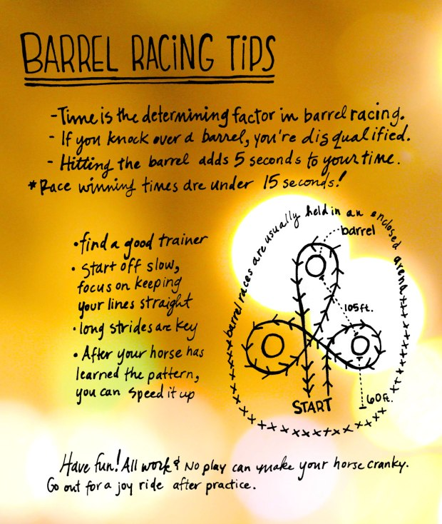 barrel racing tips from Carhartt