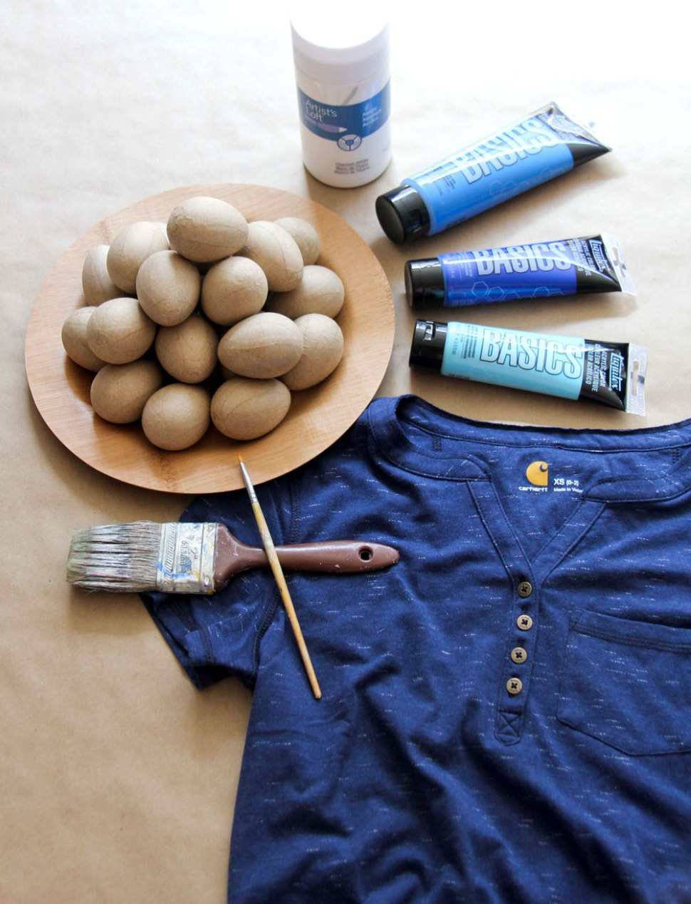 DIY ombre easter eggs / Crafted in Carhartt