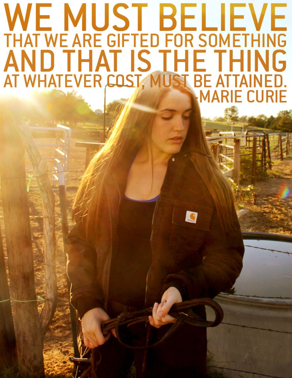 Inspiring Quotes for Women / Crafted in Carhartt