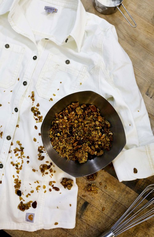 Floriole Cafe and Bakery / Olive Oil Granola Recipe