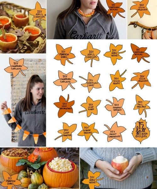 15 Fall DIYs / Crafted in Carhartt