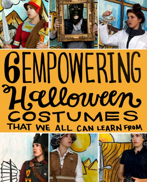 Empowering Halloween Costumes from Women in History / Crafted in Carhartt