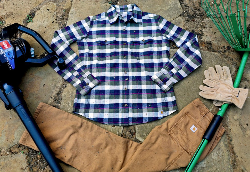 What to Wear, Yard Work Edition / Crafted in Carhartt