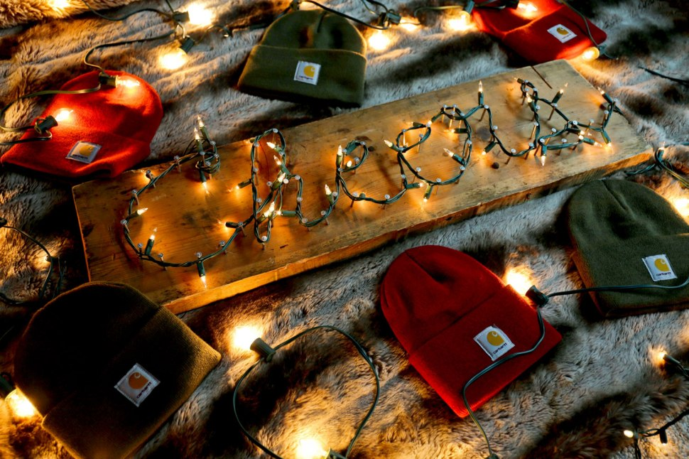 Christmas Light DIY / Crafted in Carhartt