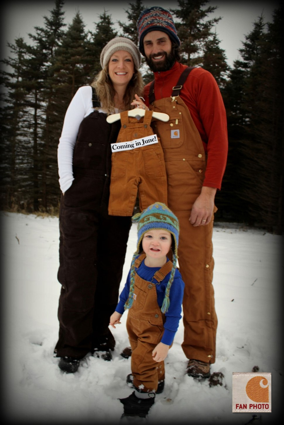 Carhartt Baby Announcement / Crafted in Carhartt