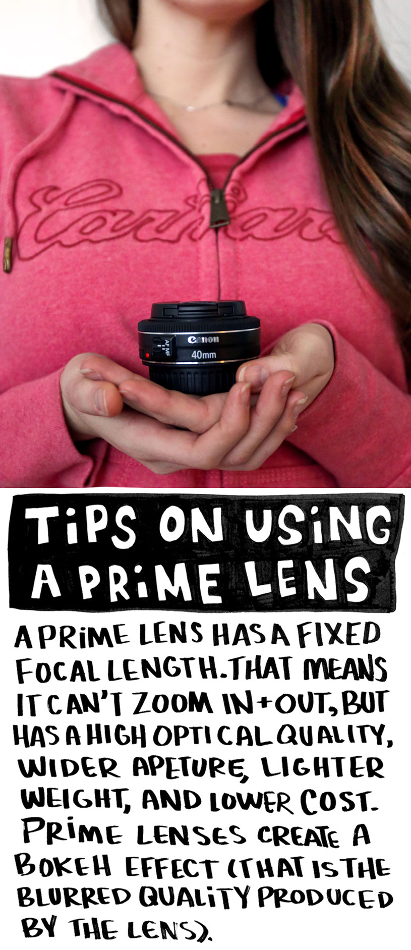 how to use a prime lens / Crafted in Carhartt