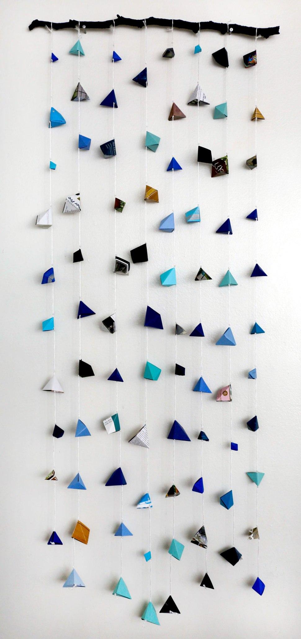 Geometric Origami DIY / Crafted in Carhartt