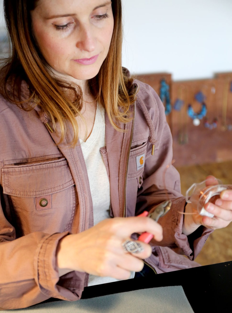 DIY Copper Necklace / Chain Chain Chained / Crafted in Carhartt
