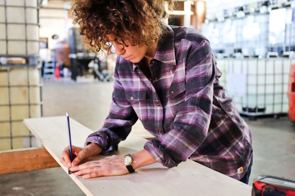 Hard Working Women Run The World / Crafted in Carhartt