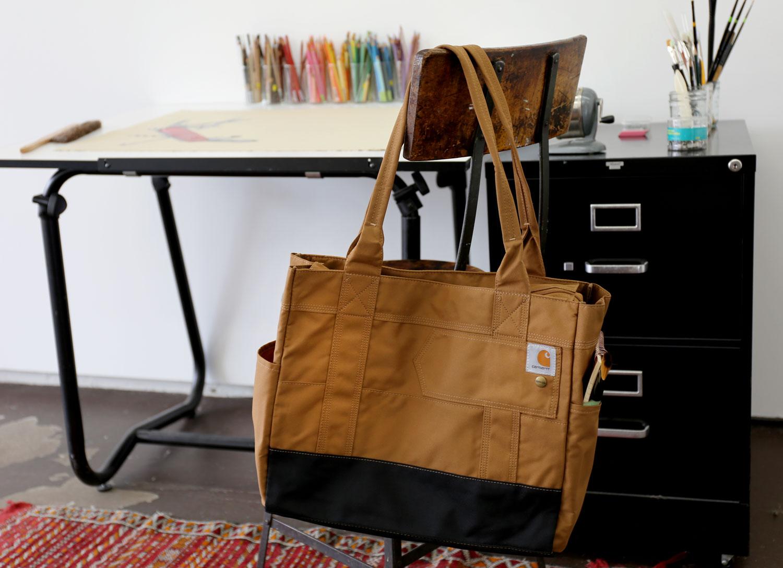 Carhartt Womens Legacy East West Water Repellent Tote Bag