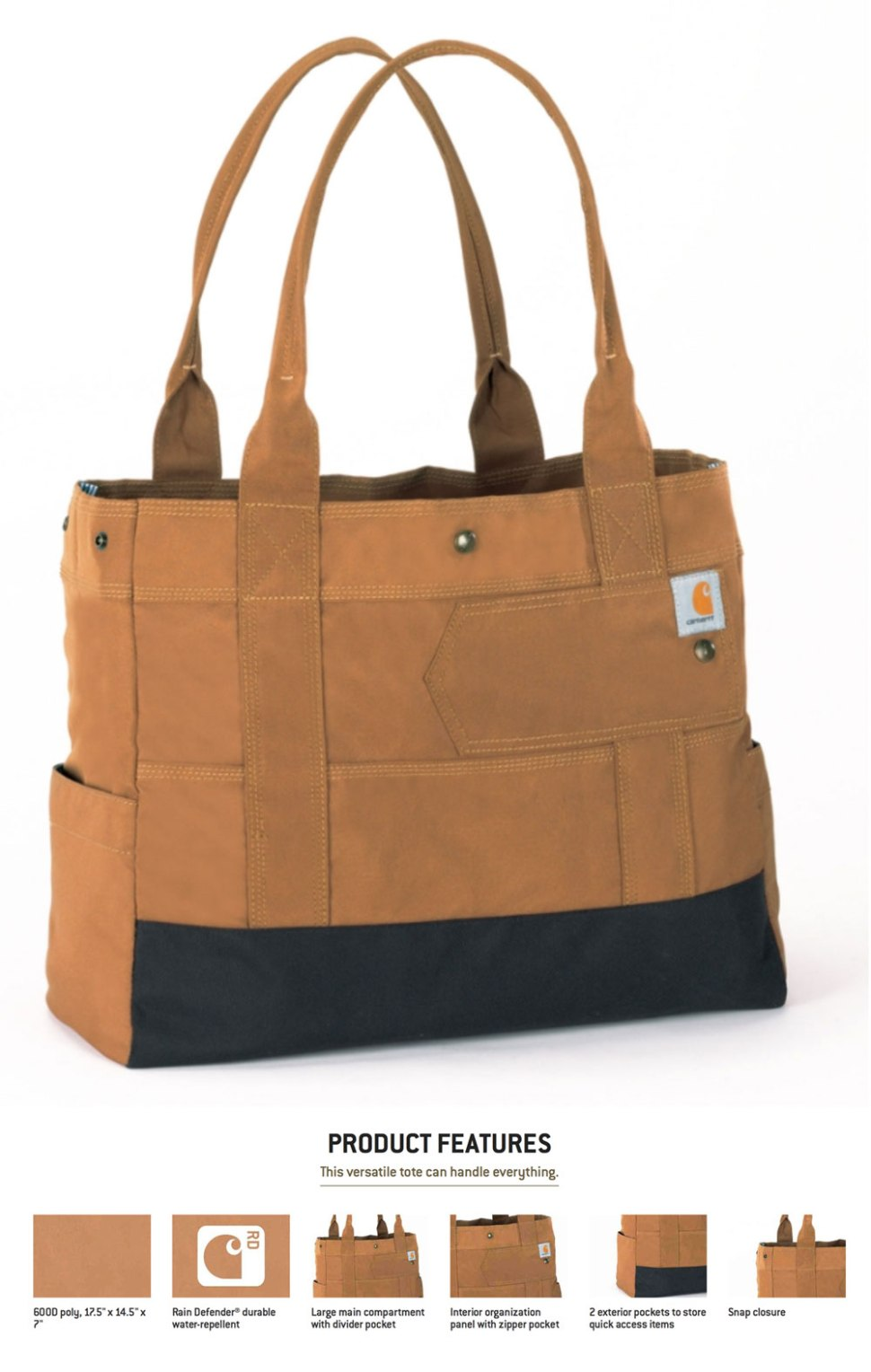 CARHARTT Legacy Women's East West Tote