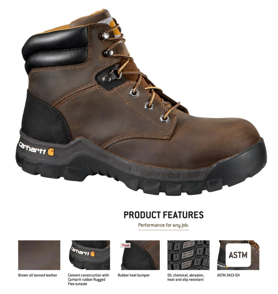 Artist Alison Wong / Rugged Flex Carhartt Work Boot / Crafted in Carhartt