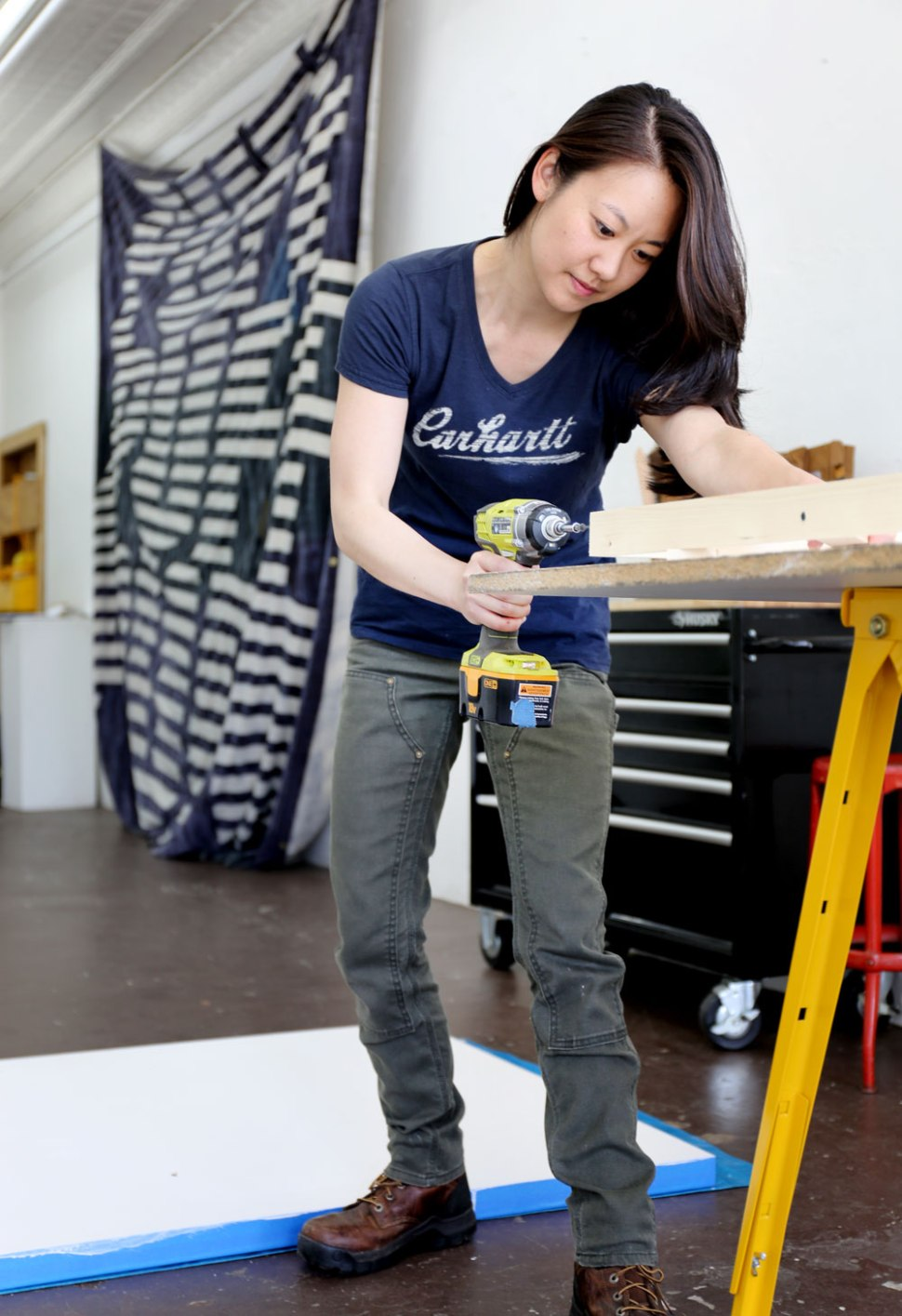 How To Make a Canvas with Arist Alison Wong / Crafted in Carhartt