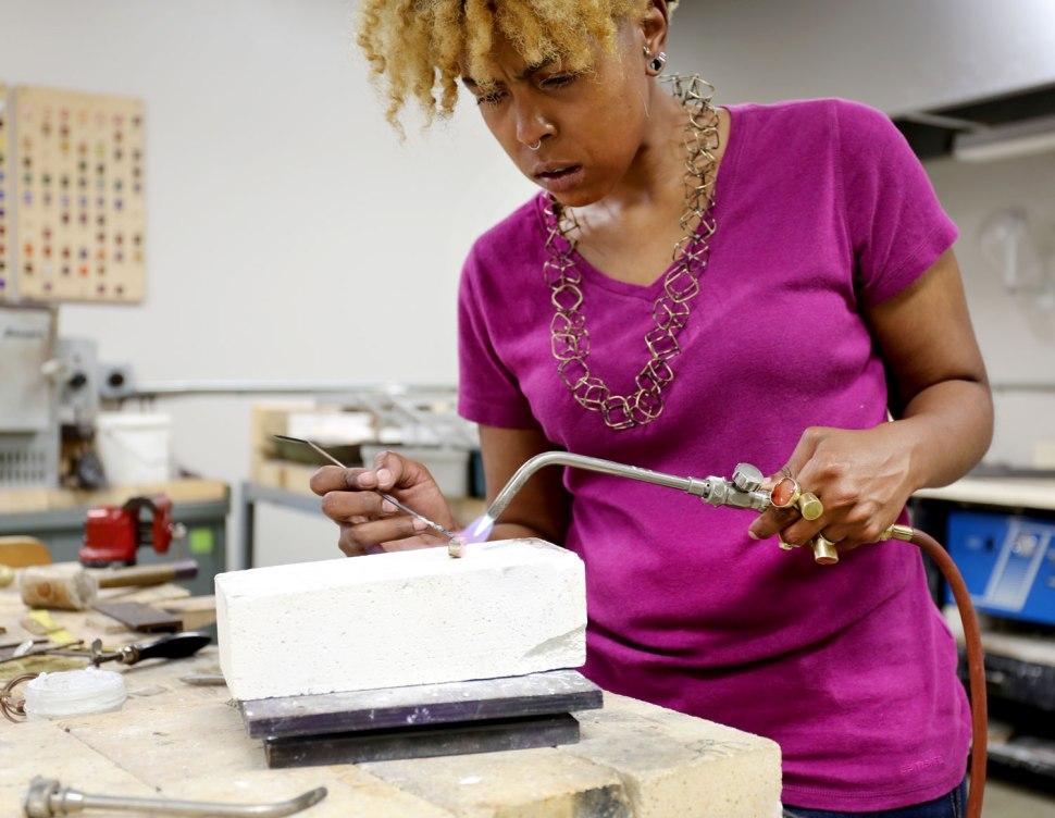 Tiff Massey Jewelry Design / Crafted in Carhartt