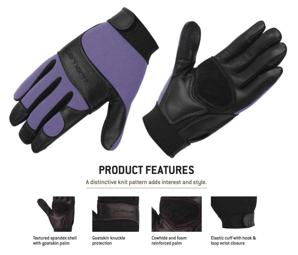Carhartt Women's Dex Glove / Crafted in Carhartt