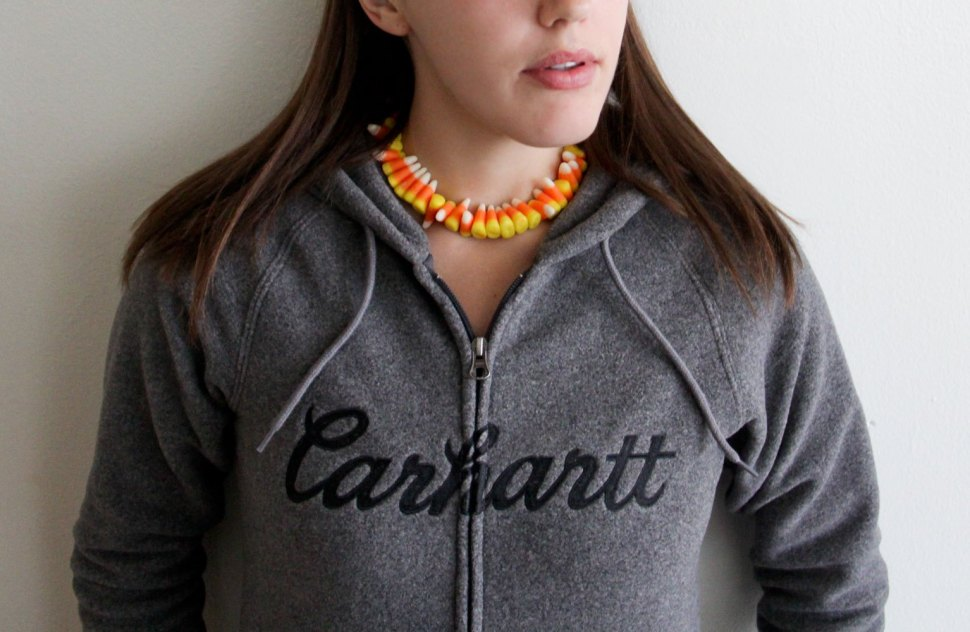 Happy Halloween / Candy Corn DIY / Crafted in Carhartt