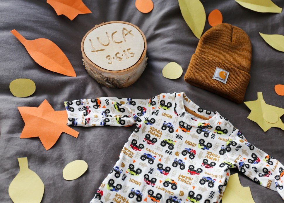 Welcome to the World Baby Gift / Crafted in Carhartt