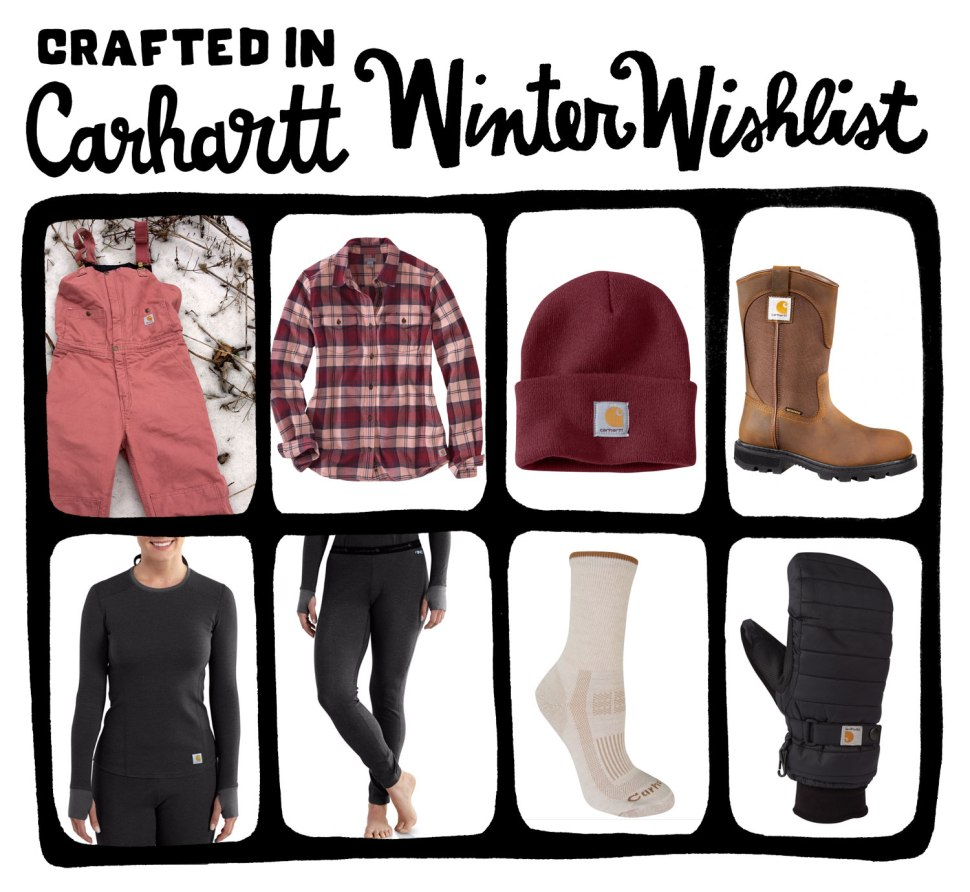 Winter Wishlist / Crafted in Carhartt