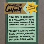 Crafted In Carhartt on Instagram
