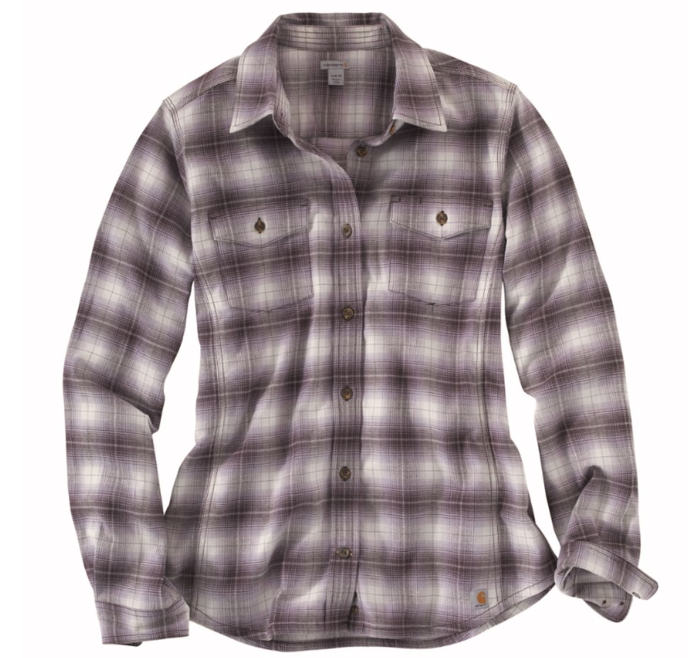 Soft Yet Tough Hamilton Flannel Shirt / Crafted in Carhartt