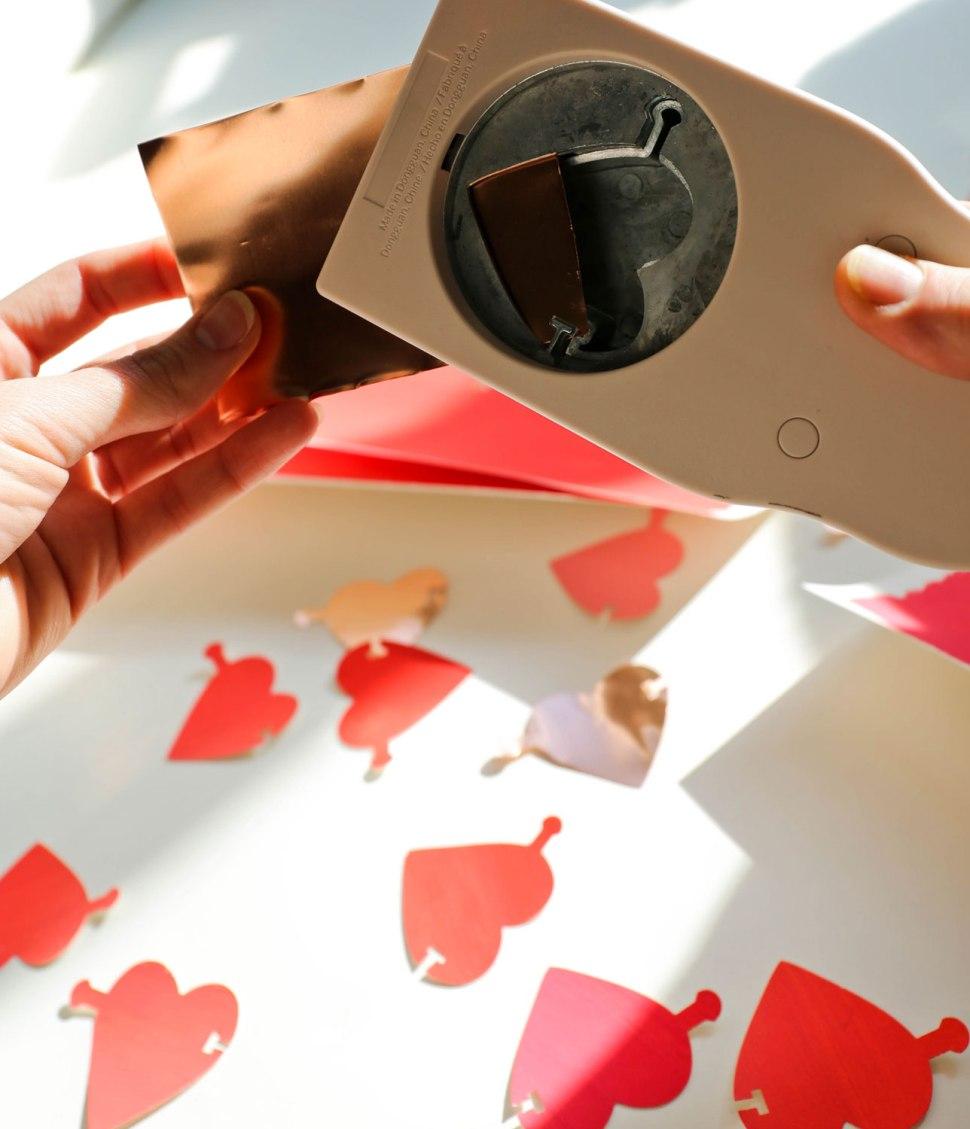 DIY Copper Heart Garland / Crafted in Carhartt