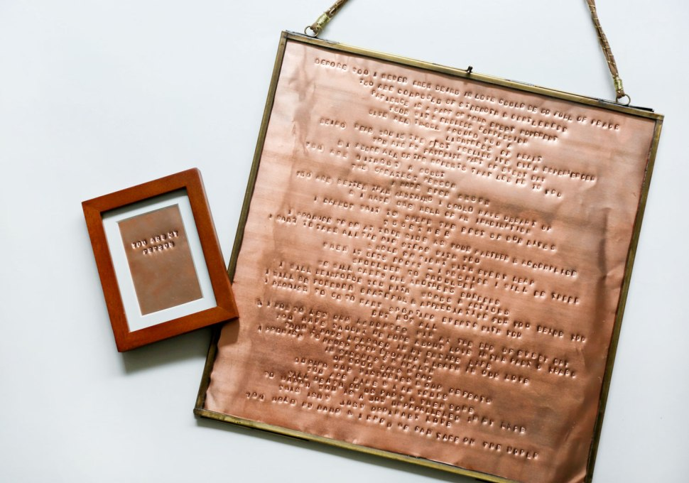 DIY Copper Love Notes / Crafted in Carhartt