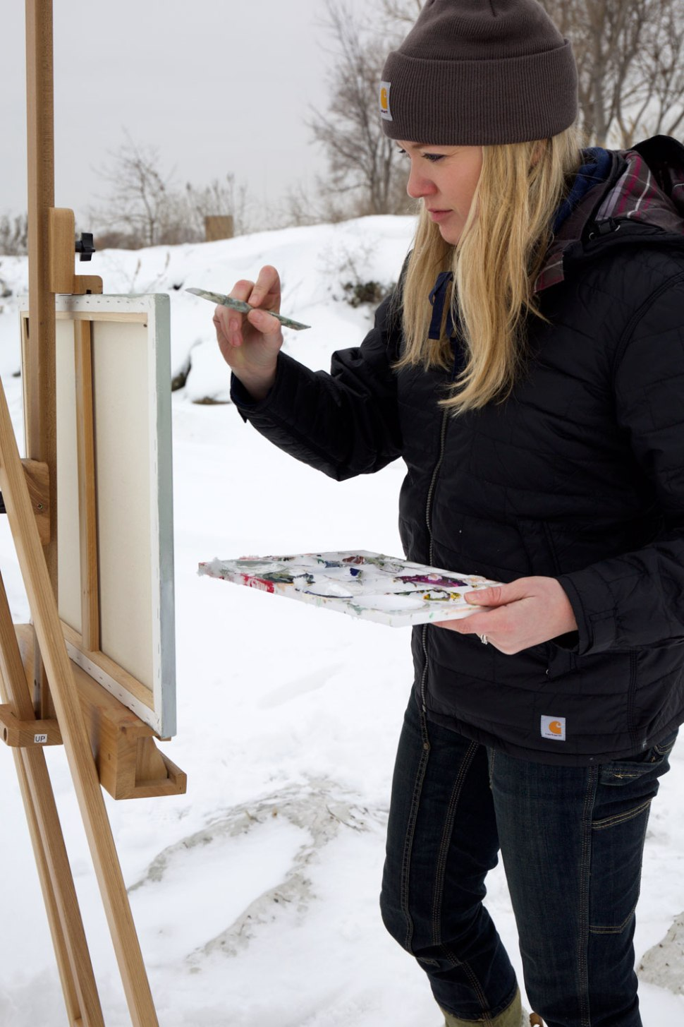 Michigan Painter Molly Manor / Crafted in Carhartt