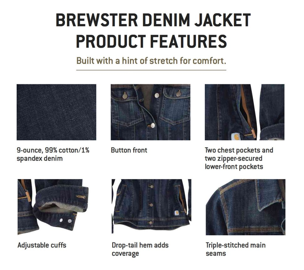 The Brewster / Crafted in Carhartt