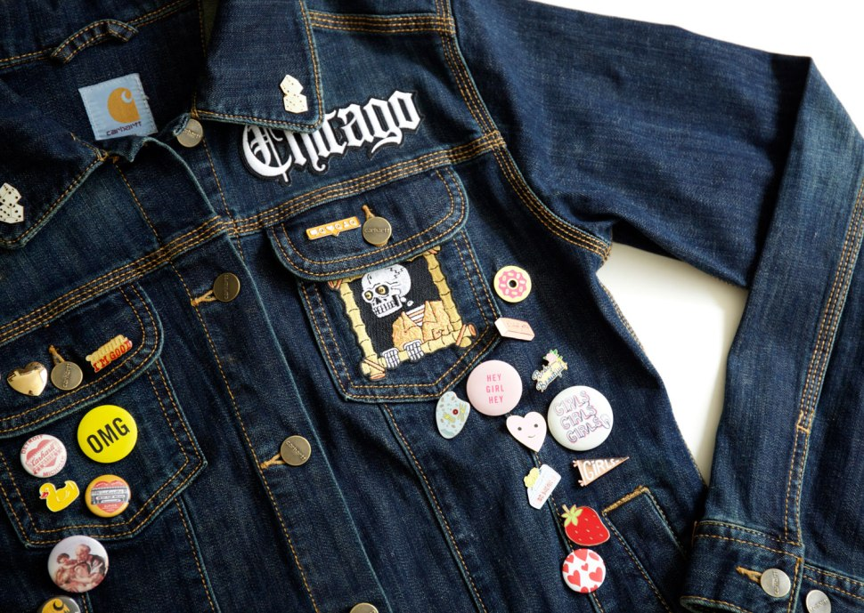 Denim Jacket Makeover / Crafted in Carhartt