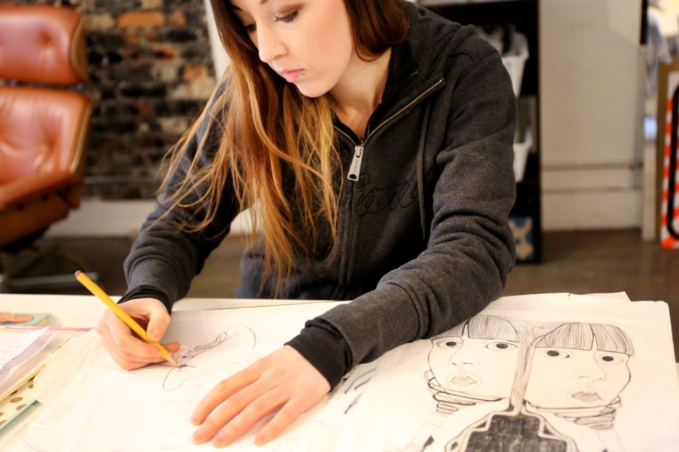 Artist Michelle Tanguay / Crafted in Carhartt