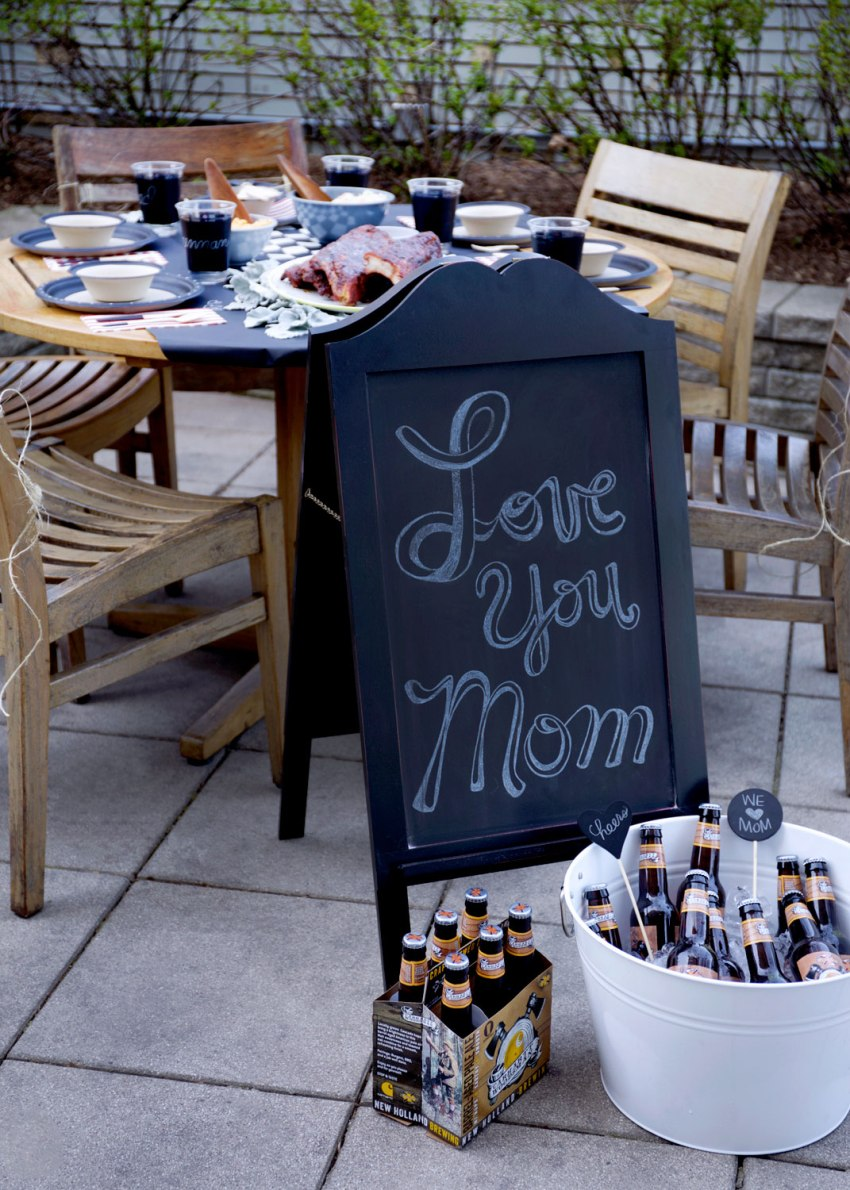 Mother's Day BBQ Brunch / Crafted in Carhartt