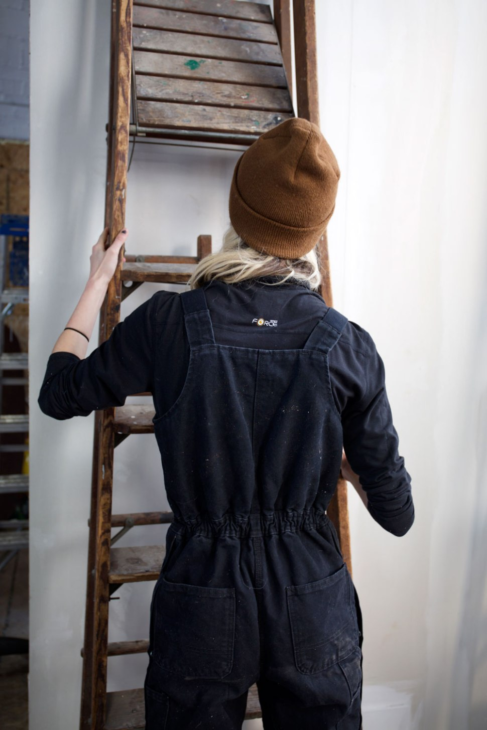 Studio Assistant, Emilee Austin / Crafted in Carhartt