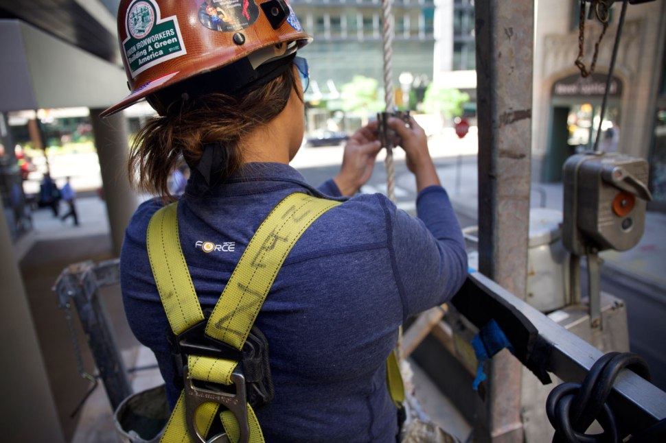 Chicago Ironworker Ana Lopez / Crafted in Carhartt
