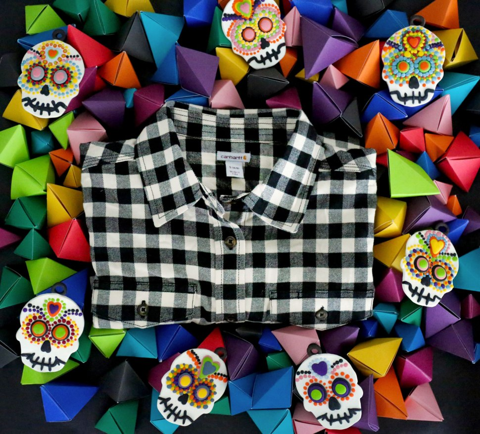 DIY Sugar Skulls / Crafted in Carhartt