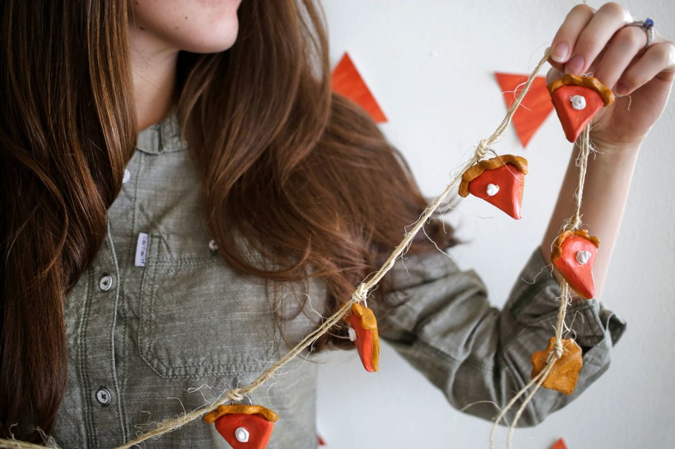 Pumpkin Pie Garland / Crafted in Carhartt