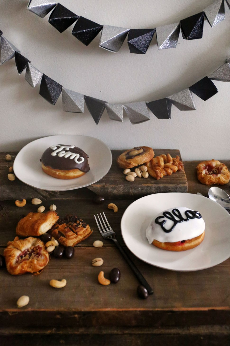 DIY Doughnut Place Cards / Crafted in Carhartt