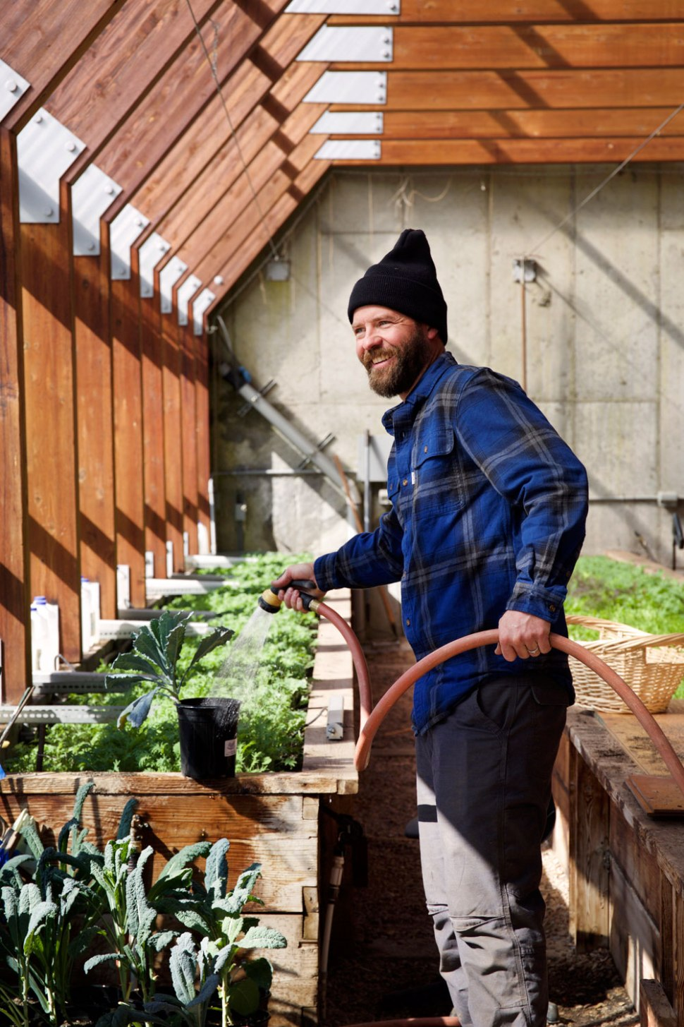 Green House in the Winter / Crafted in Carhartt